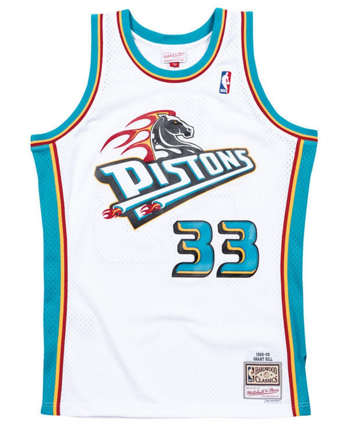 850d738e620 ... Grant Hill Detroit Pistons Hardwood Classic Swingman Jersey for Men -.  View fullscreen