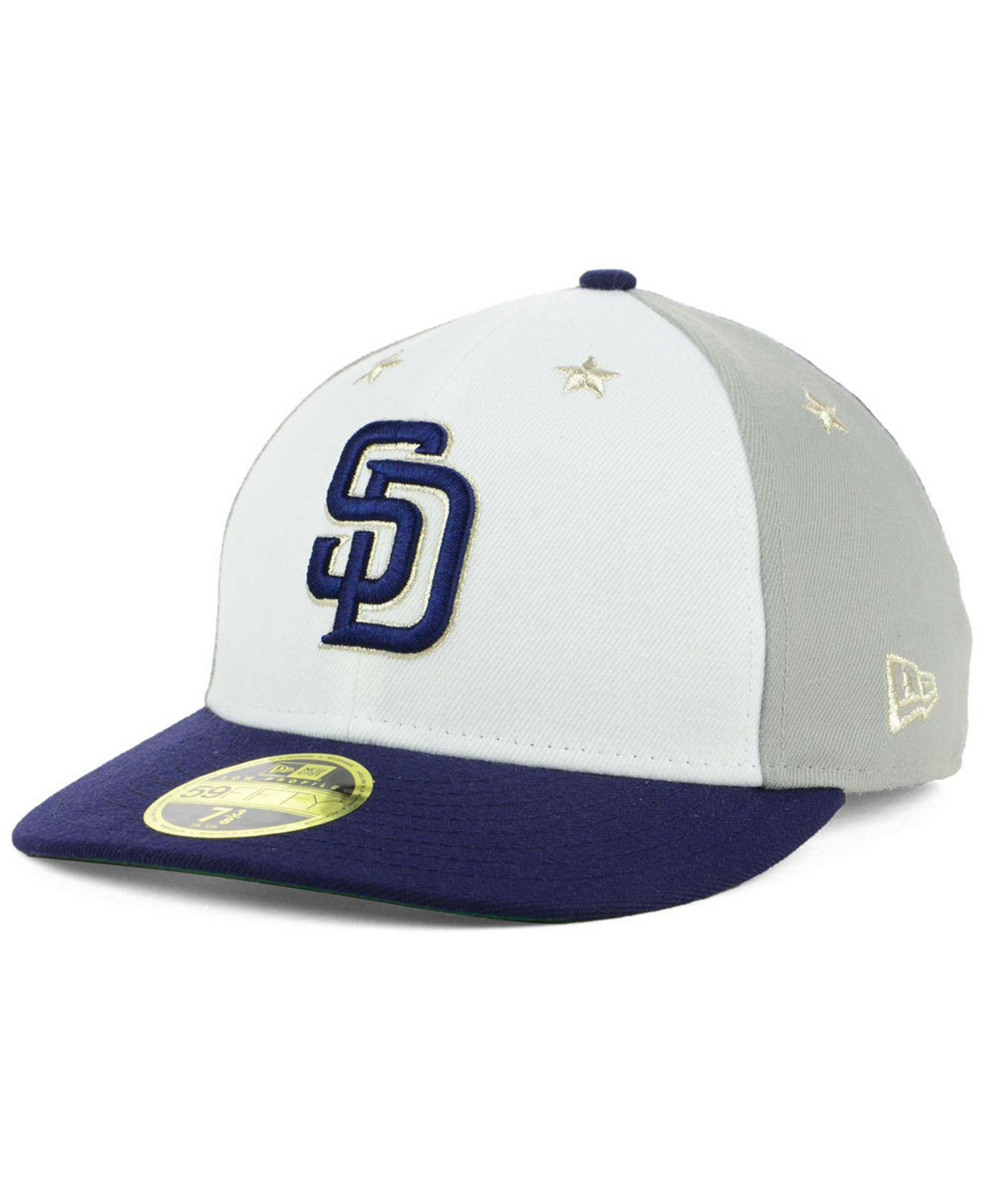 innovative design 3af6c 2fefd ... france san diego padres all star game patch low profile 59fifty fitted  cap 2018. view