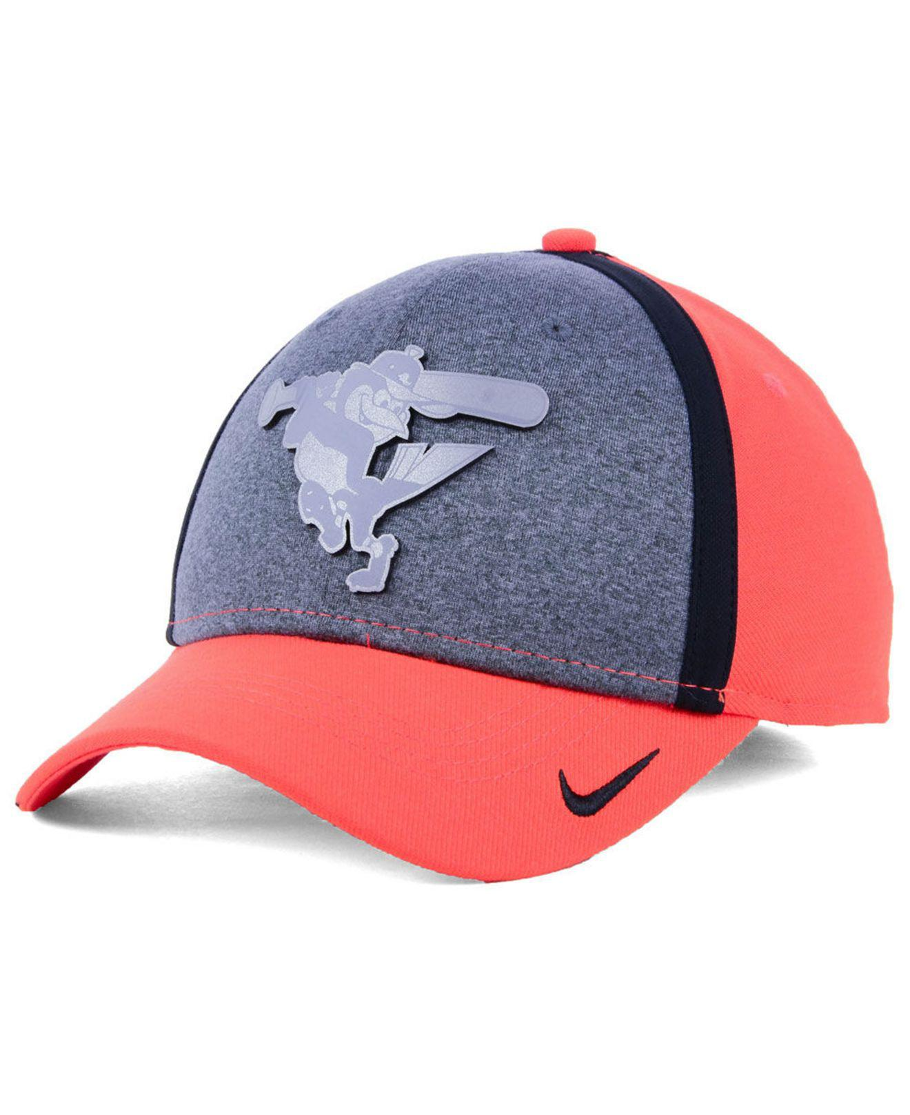 0e0611f833252 Lyst - Nike Baltimore Orioles Team Color Reflective Swooshflex Cap ...