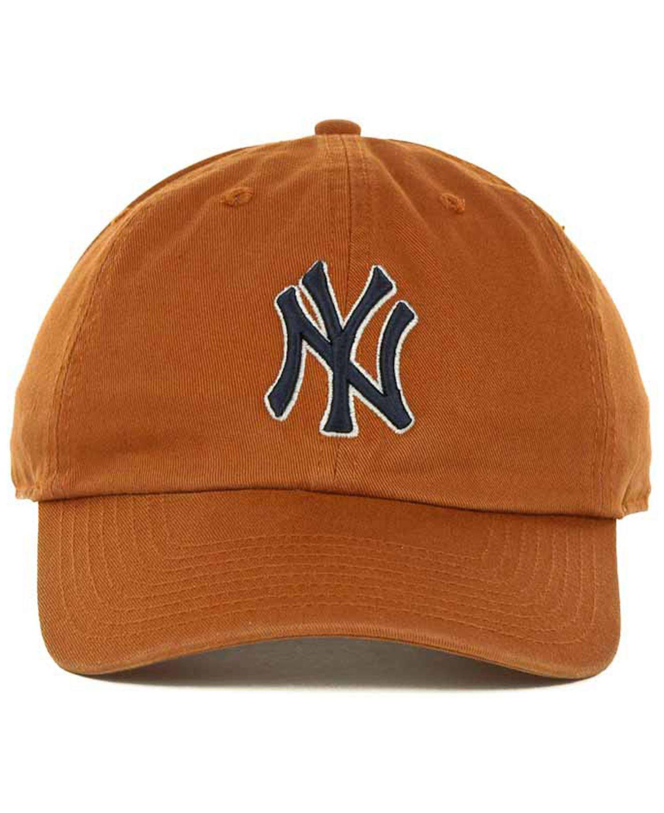df782523865a6 Lyst - 47 Brand New York Yankees Clean Up Hat in Orange for Men