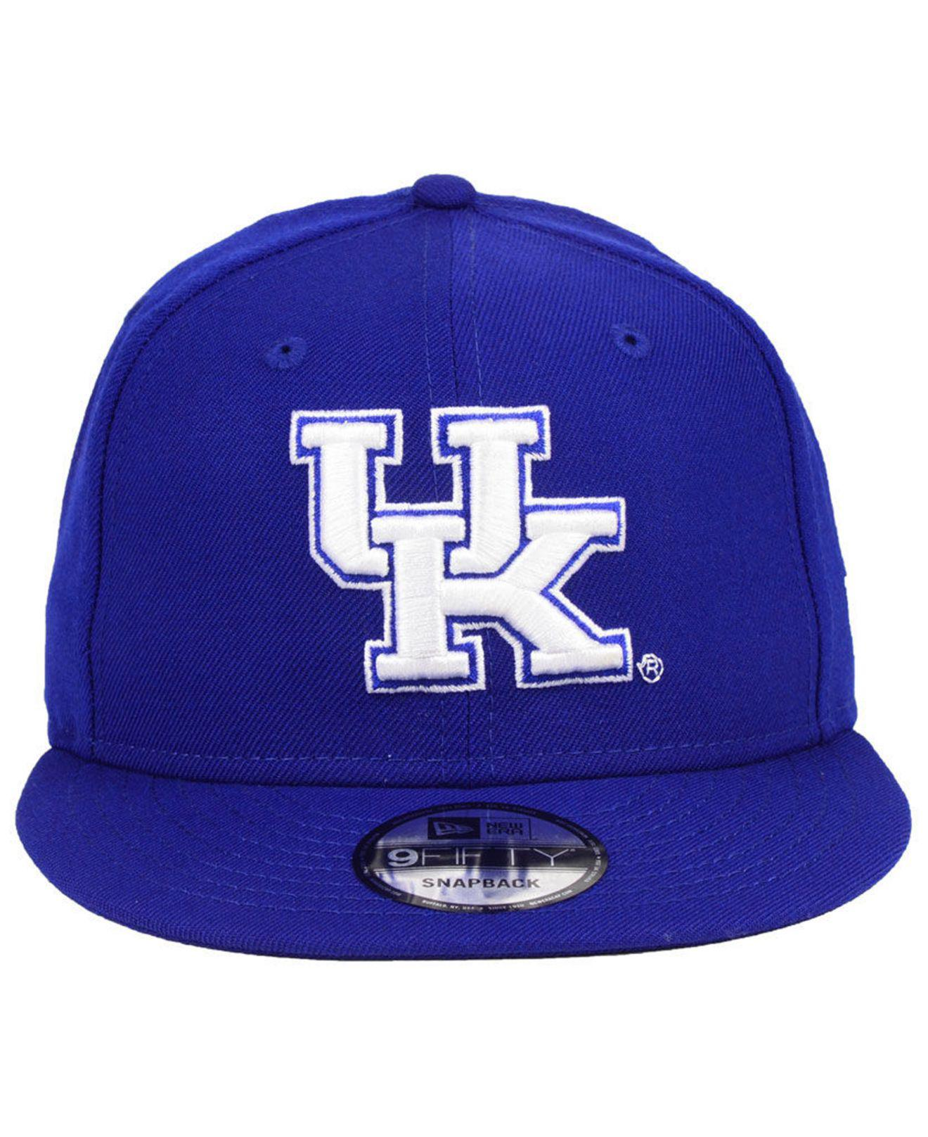12ffe8dde4c Lyst - Ktz Kentucky Wildcats Core 9fifty Snapback Cap in Blue for Men