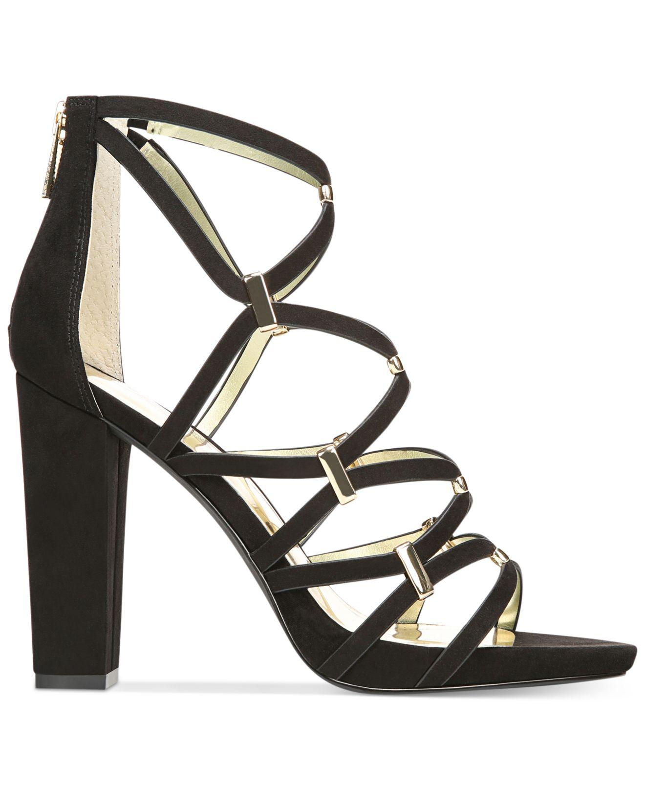 1bb012806fe Carlos By Carlos Santana Black Womens Francesca Fabric Open Toe Special  Occasion St...