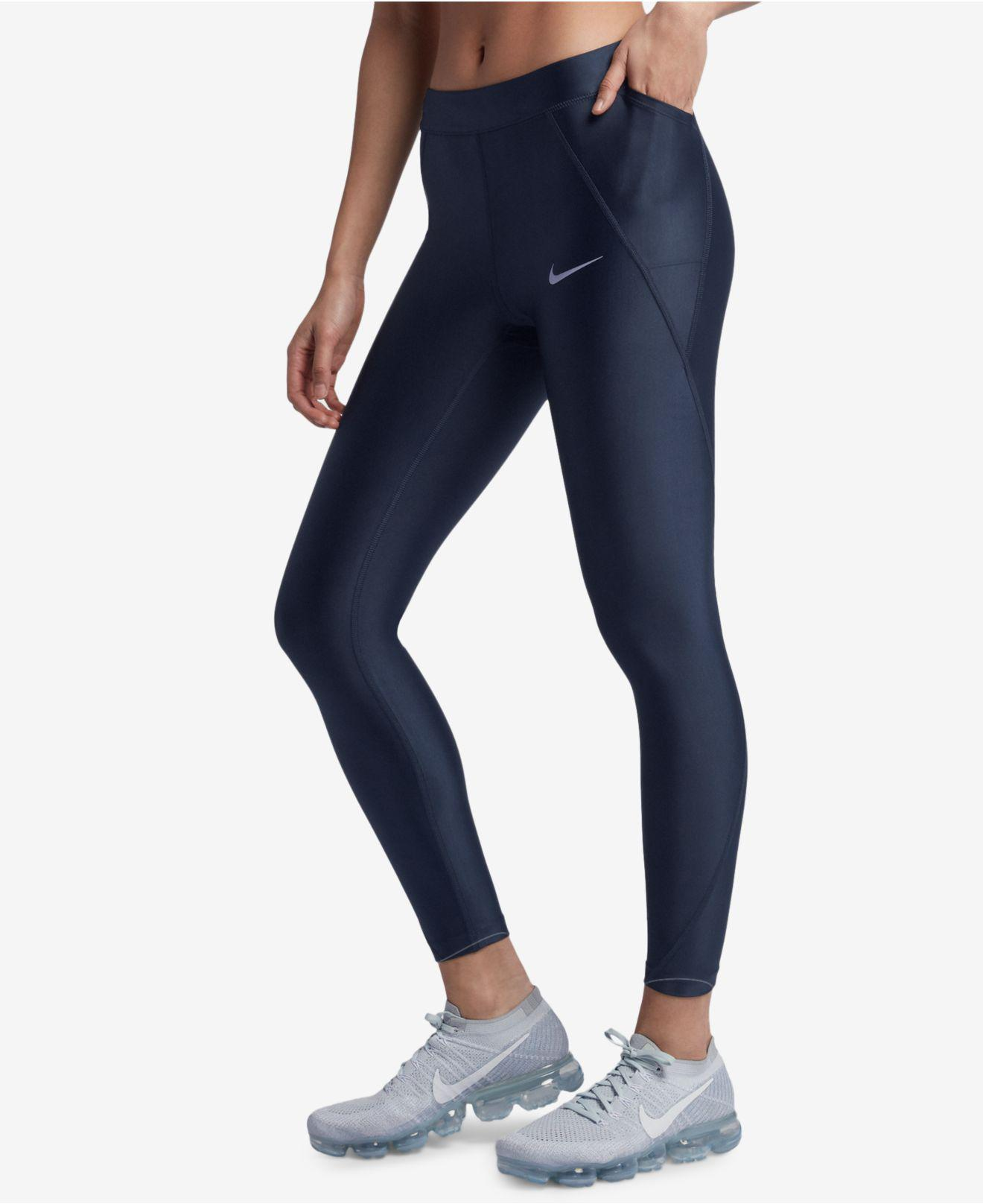 navy running leggings