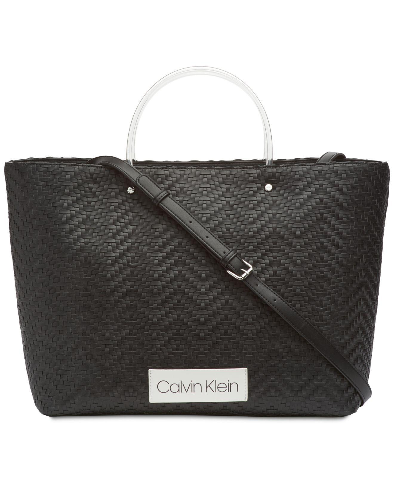 f1ee6ad379 Calvin Klein - Black Morgan Large Tote - Lyst. View fullscreen