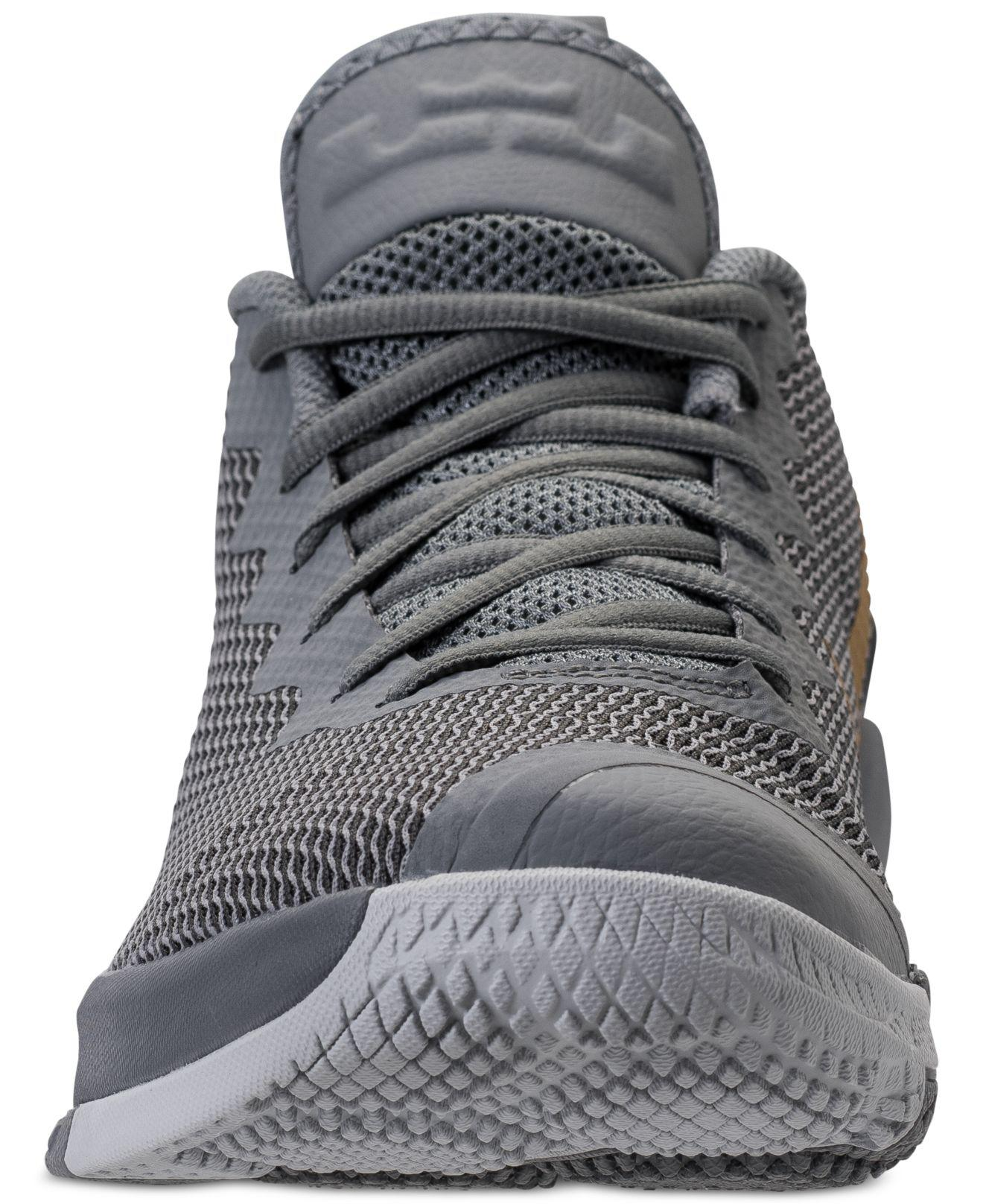 166d7b56596 Lyst - Nike Lebron Witness Ii Basketball Sneakers From Finish Line ...