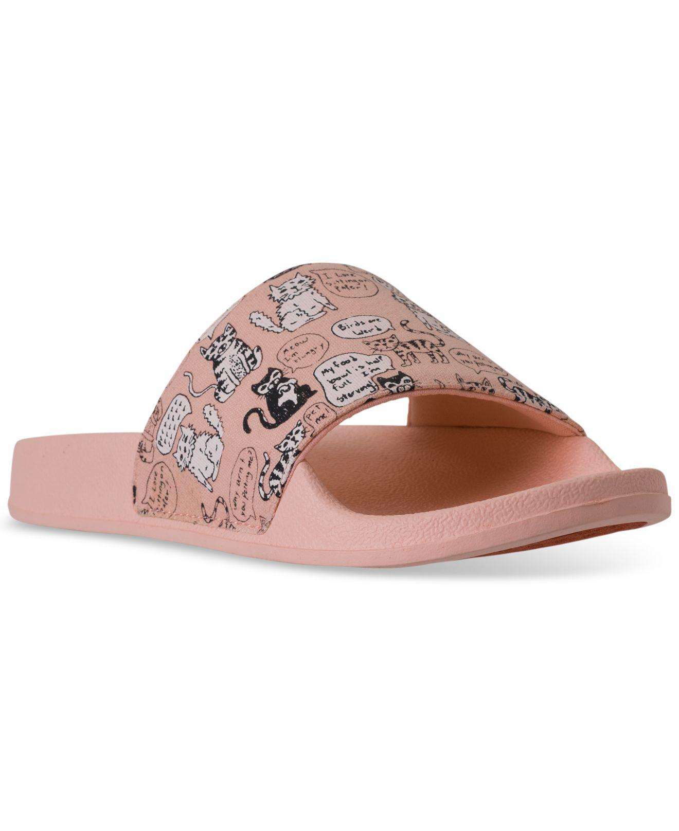 Skechers. Women s Pink Bobs Pop-ups - Cat Chat Bobs For Dogs Slide Sandals  From Finish Line 50550cb1d