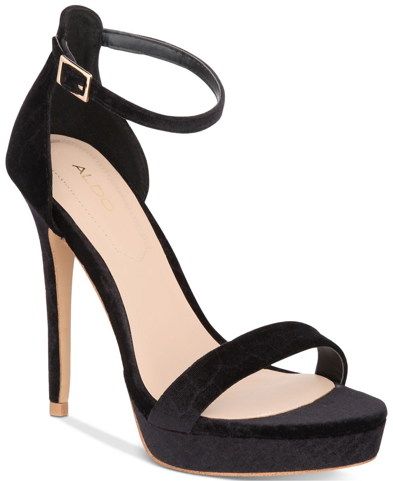 226e9abb559 Lyst - ALDO Madalene Platform Sandals in Black