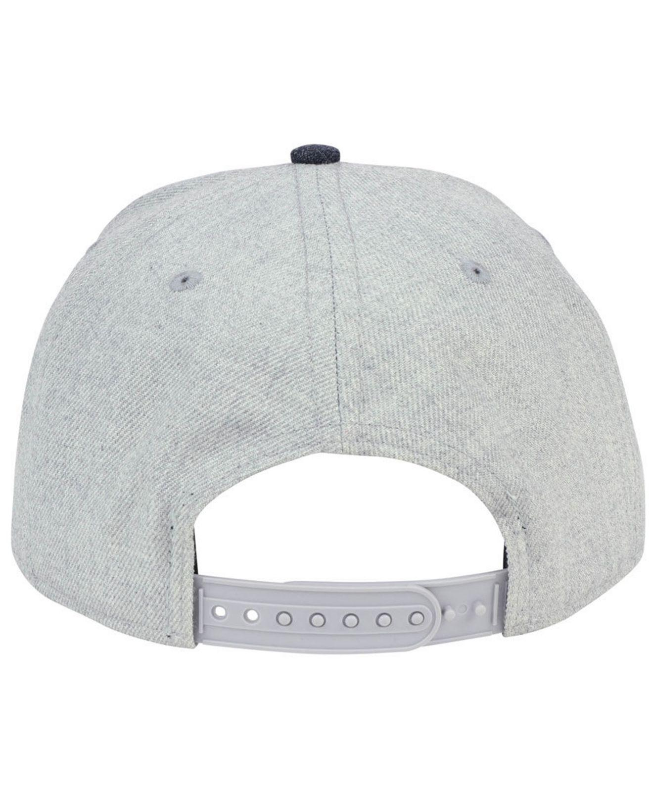 the best attitude 43d73 57cac ... uk lyst ktz new york yankees heather hype 9fifty snapback cap in gray  ff9eb 4faf9