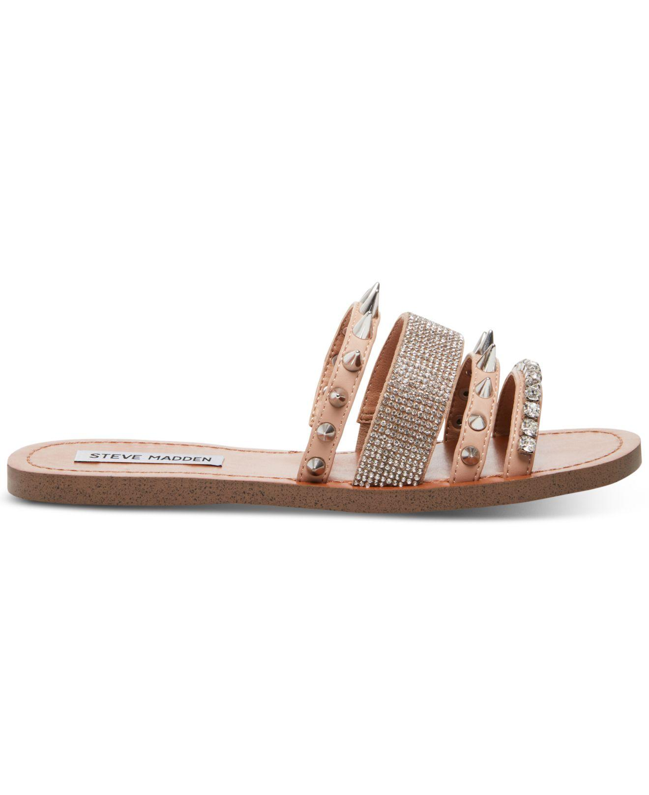 bf9d43ae8131d Steve Madden Lindy Slip-on Sandals - Lyst