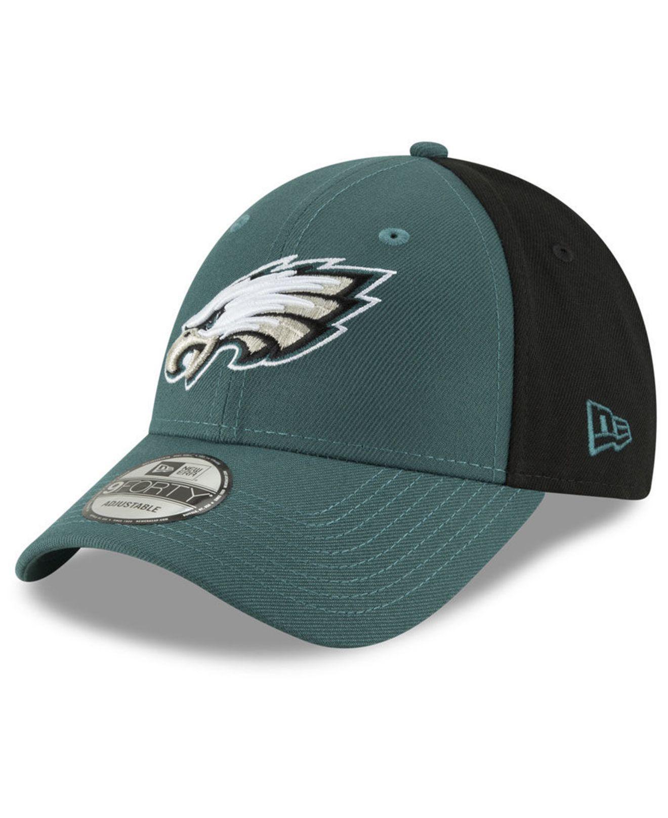 86a83f15e36b6 Lyst - Ktz Philadelphia Eagles Team Blocked 9forty Cap for Men