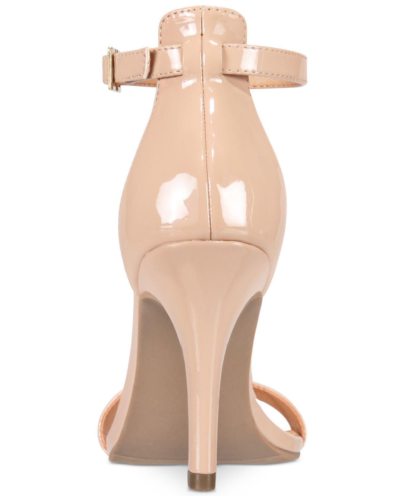 81bd29b8e43 Lyst - Material Girl Blaire Two-piece Dress Sandals in Natural