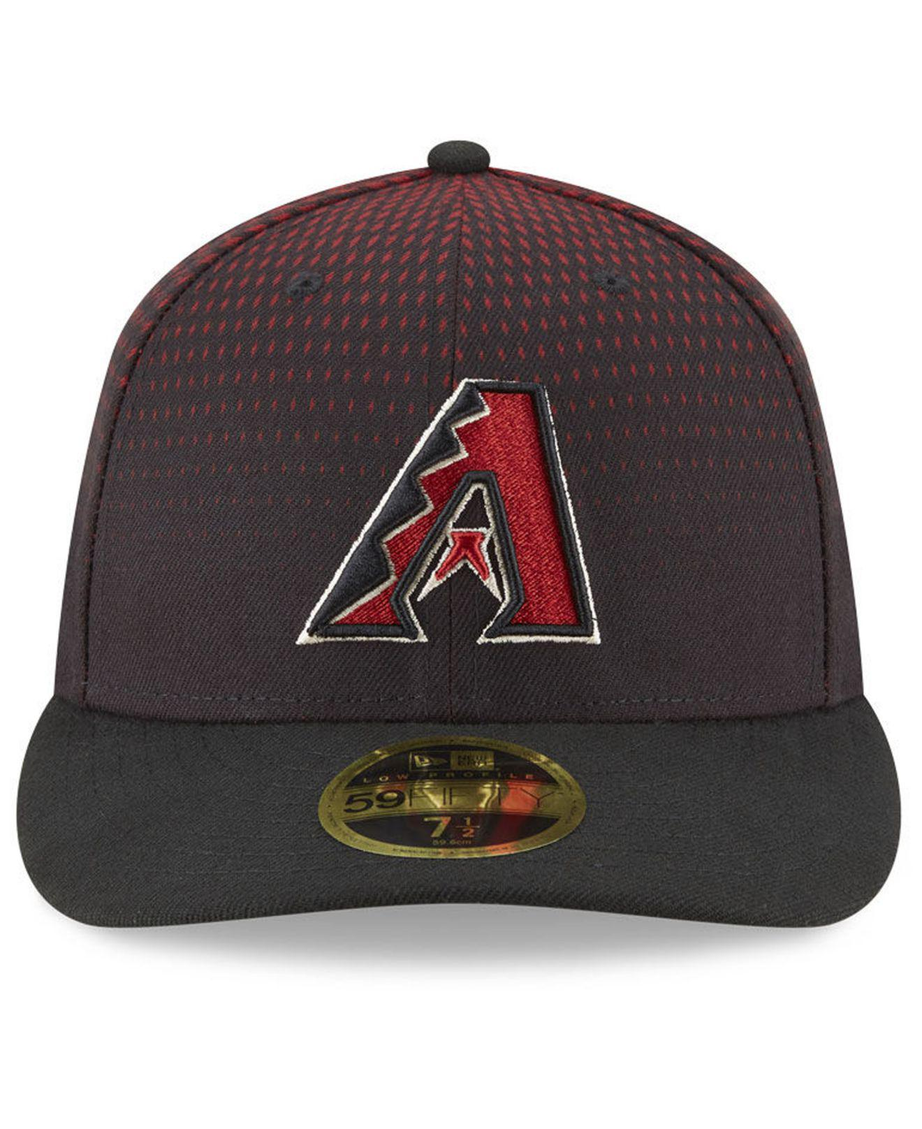 premium selection 67cf7 91781 Lyst - KTZ Arizona Diamondbacks 9-11 Memorial Low Profile 59fifty Fitted Cap  in Black for Men