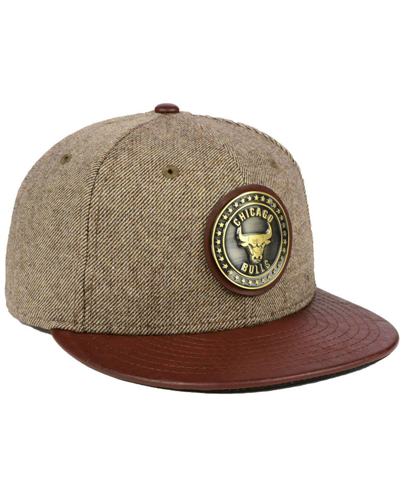buy popular 3ac56 58b72 Lyst - Ktz Butter Badge 9fifty Snapback Cap in Brown for Men