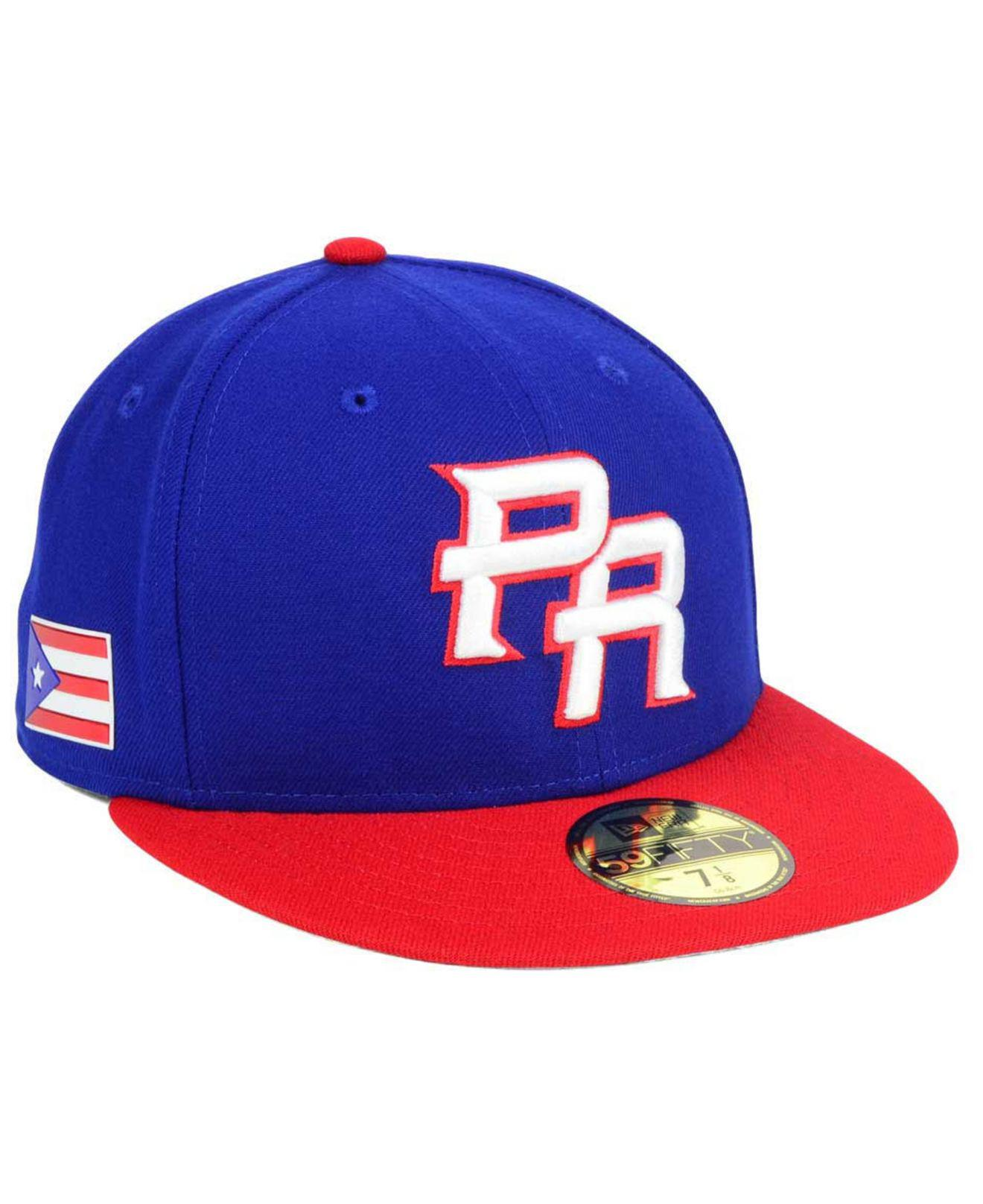 015d0331f9e Lyst - Ktz Puerto Rico World Baseball Classic 59fifty Fitted Cap in ...