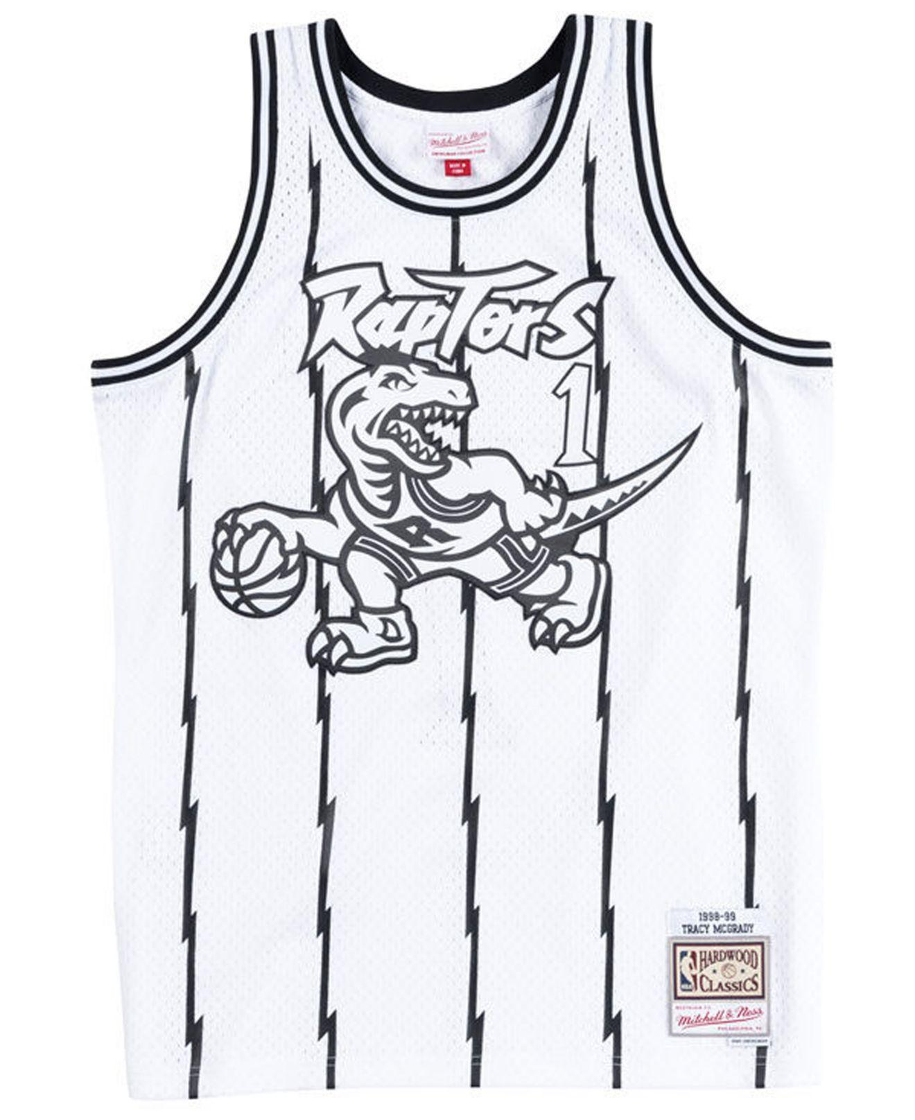 415dfd4ff8b Mitchell & Ness - White Tracy Mcgrady Toronto Raptors Concord Collection Swingman  Jersey for Men -. View fullscreen
