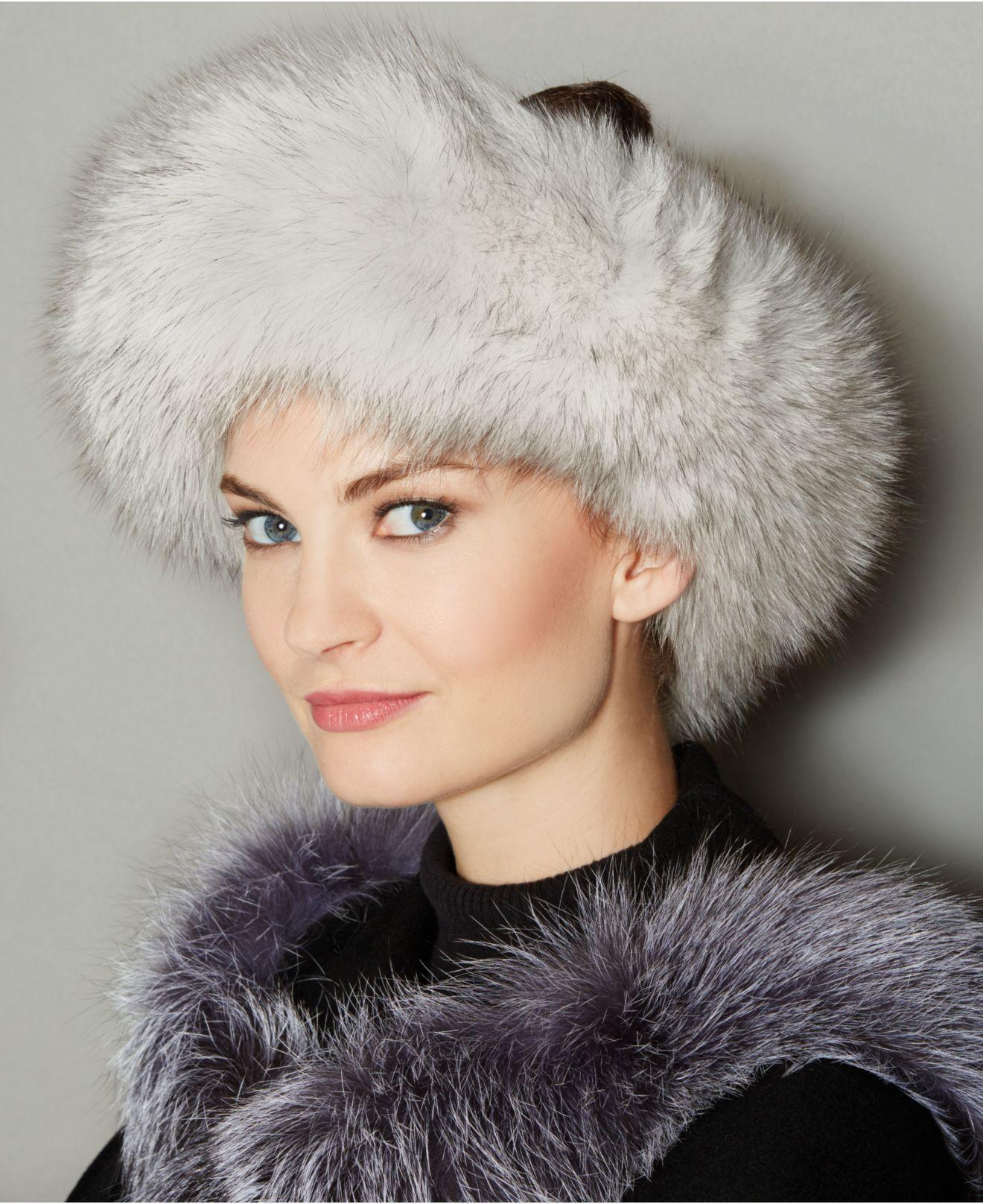 467588add6b The Fur Vault. Women s Fox Fur Headband