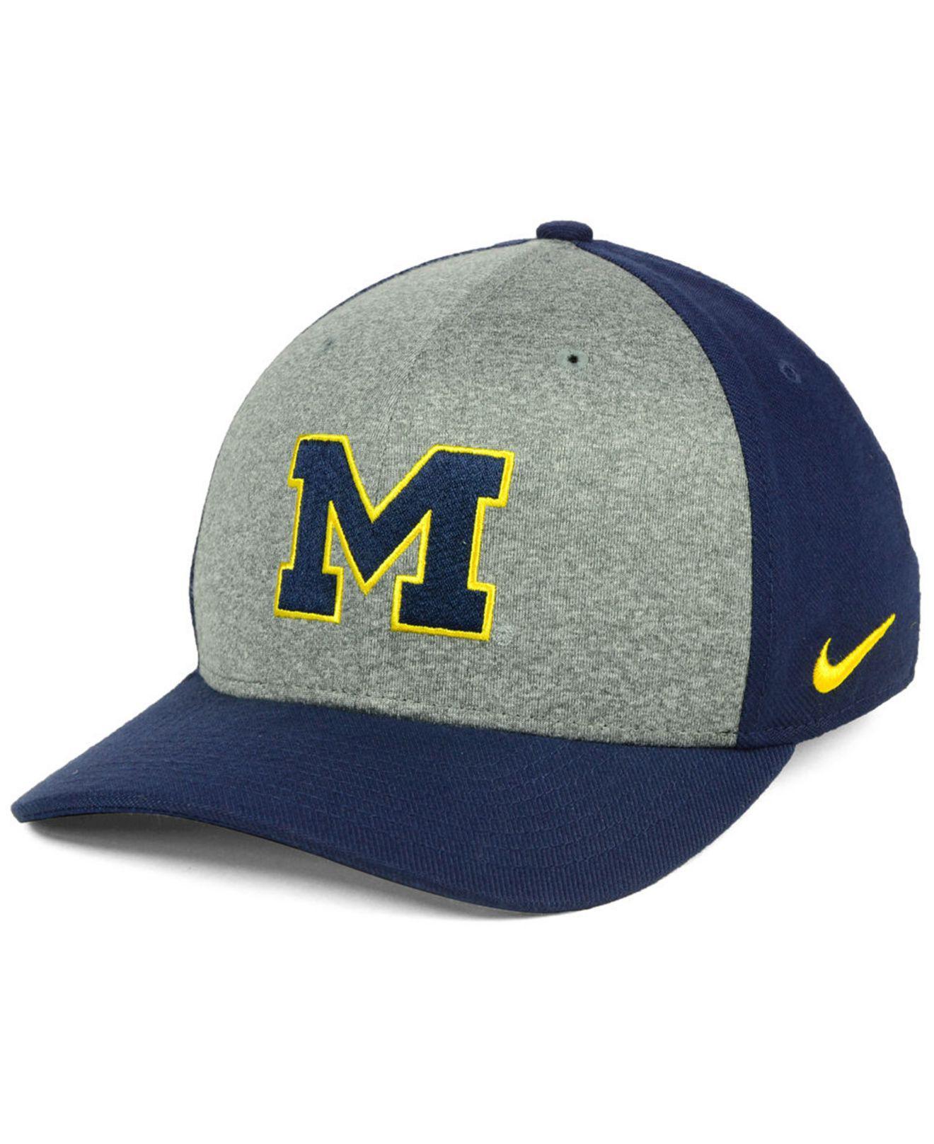 Lyst - Nike Michigan Wolverines Legend Swooshflex Cap in Blue for Men 4c2b180ca6f9