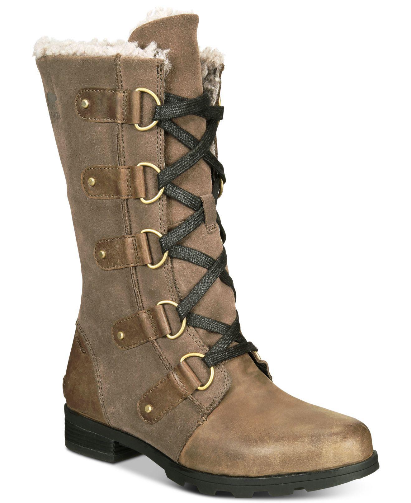 Sorel Emelie Lace-up Waterproof Boots