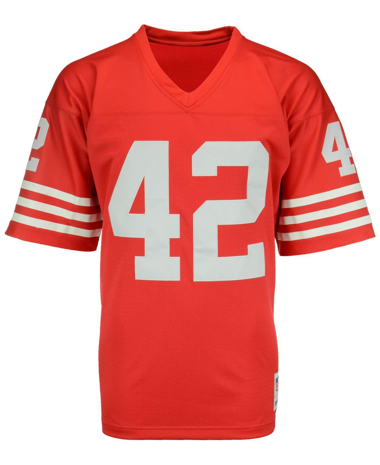 09ed8285b Lyst - Mitchell   Ness Ronnie Lott San Francisco 49ers Replica ...