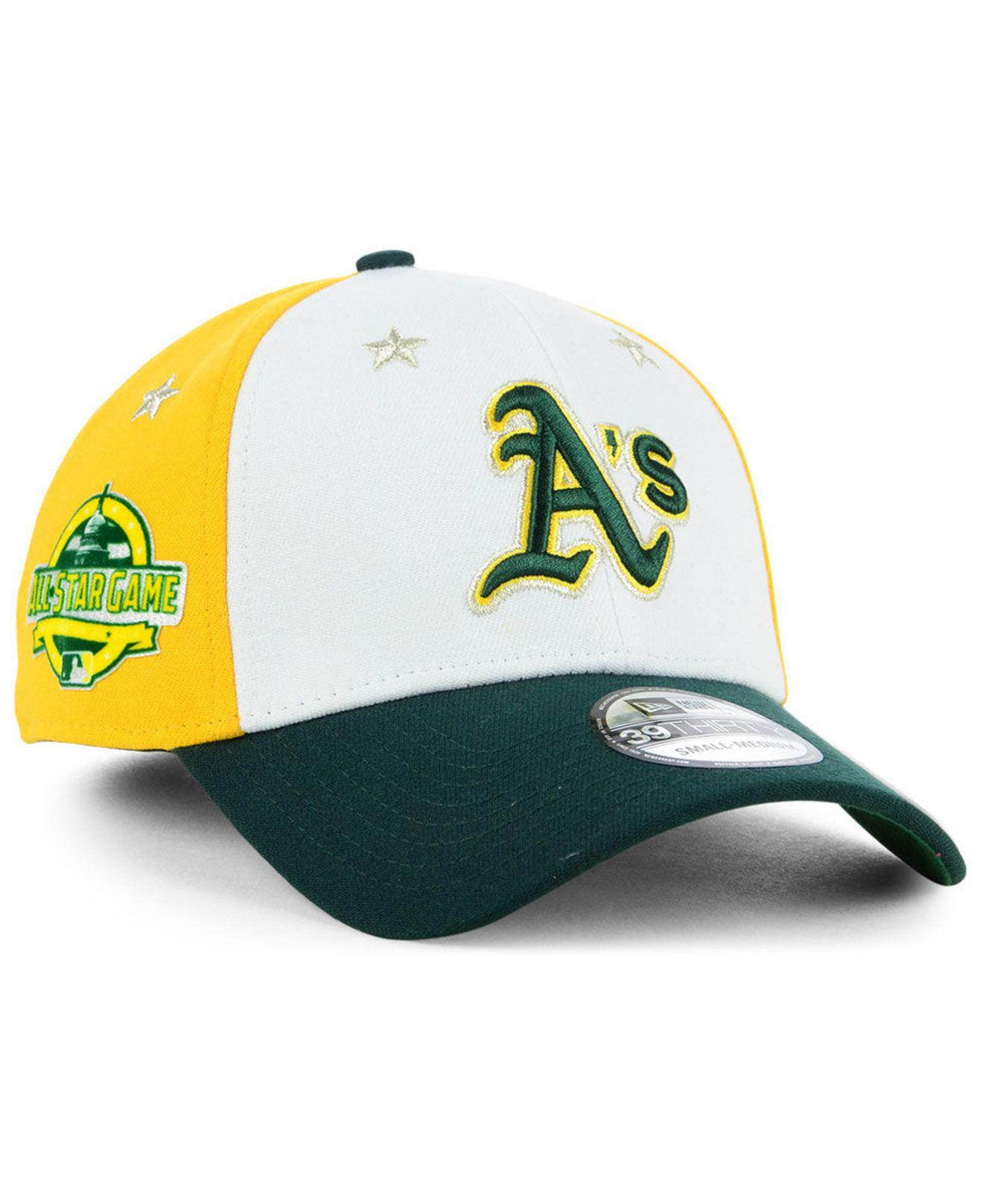 buy popular f6d34 0dee5 Lyst - KTZ Oakland Athletics All Star Game 39thirty Stretch Fitted ...