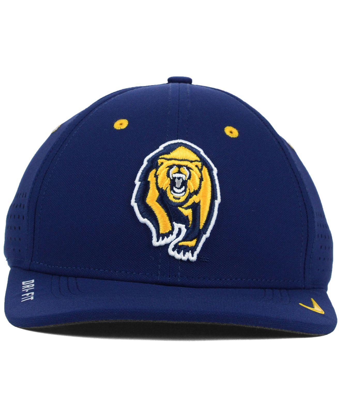 best service 80c74 7a657 ... wholesale lyst nike california golden bears sideline cap in blue for men  3b7f5 ea1d3