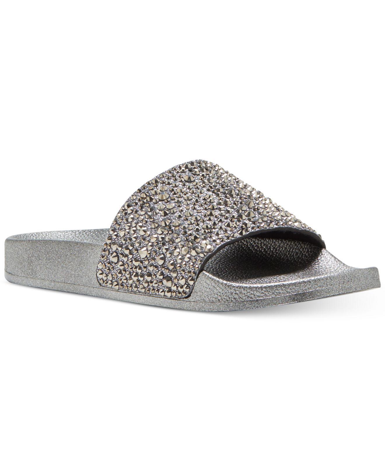 a421bc5c0 Lyst - INC International Concepts Women s Peymin Flat Slide Sandals