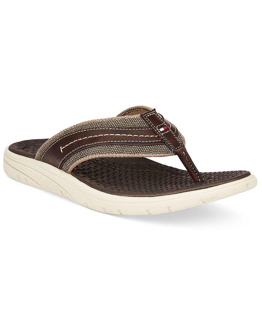 Tommy Hilfiger Men S Grander Sandals In Brown For Men Lyst