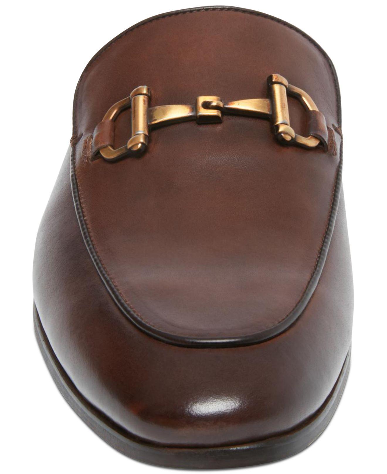 035d491d511 Steve Madden - Brown Difranco Leather Bit Slip-ons for Men - Lyst. View  fullscreen