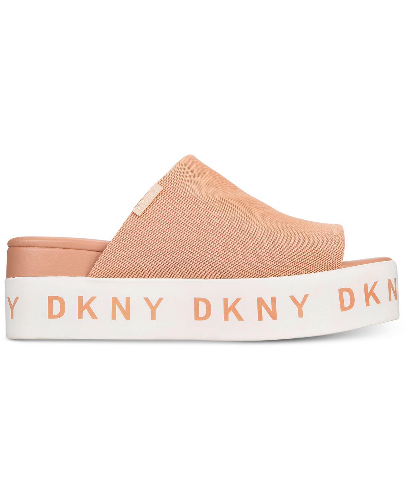 6668687eab5 DKNY Pink Carli Flatform Sandals, Created For Macy's