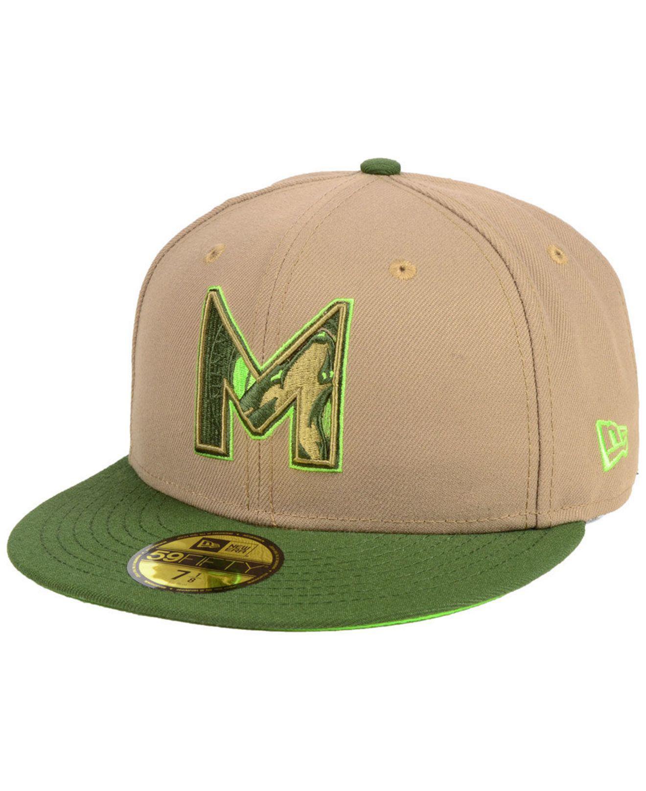 timeless design 3623d 8a82c KTZ. Men s Green Minnesota Timberwolves Fall 2 Tone Combo 59fifty-fitted Cap