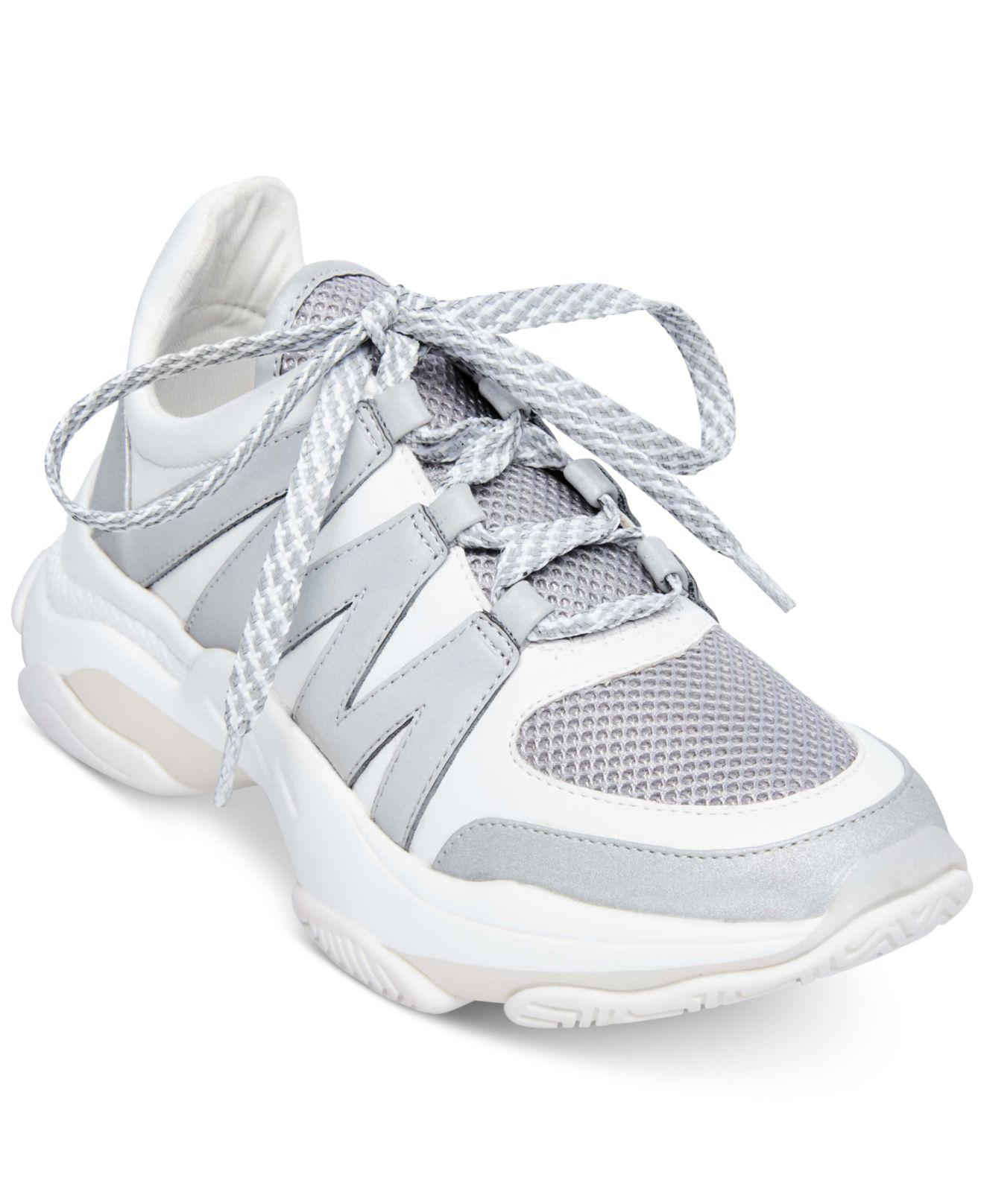 dbbd2e3189b Steve Madden Maximus Sneakers in Gray - Lyst