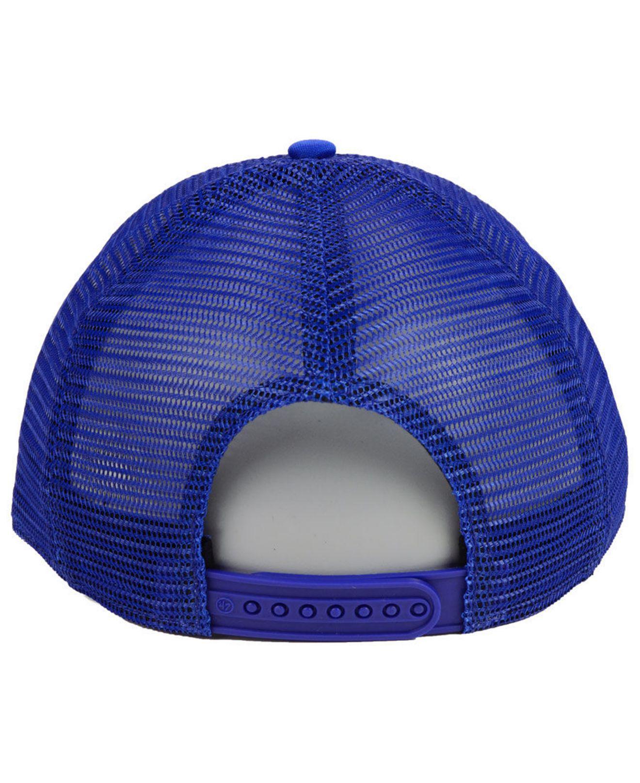 new style c0d1b 371ab ... clean up cap for men cd57c 1fdc9  shop 47 brand blue dallas mavericks  region mesh mvp cap for men lyst. view fullscreen