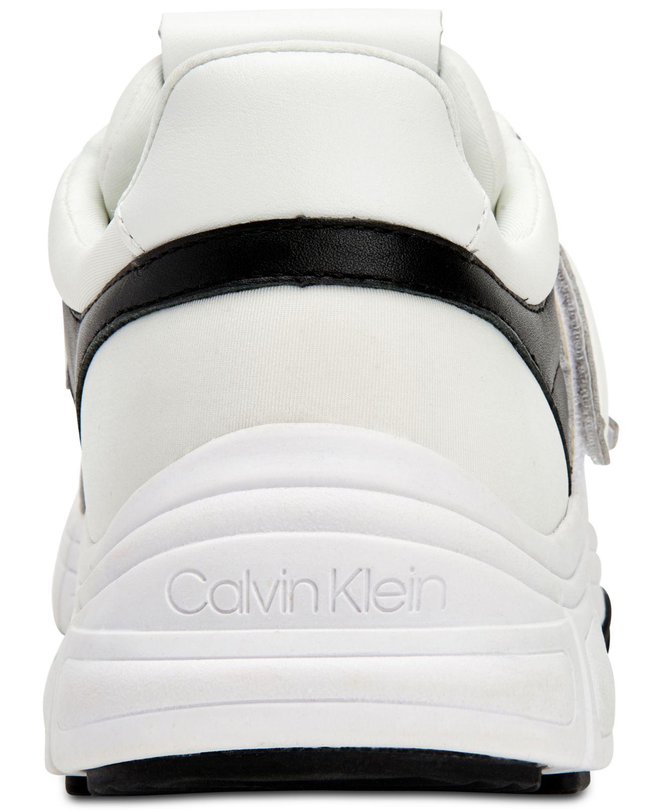 Calvin Klein Leather Dallen Sneakers in