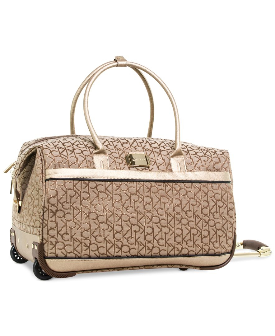 calvin klein nolita 3 0 rolling city bag only at macy s