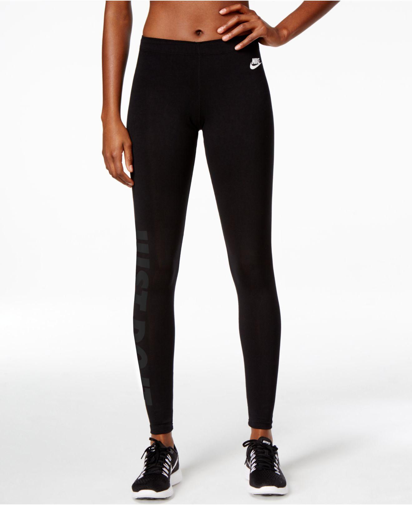 New CatchOfTheDaycomau  Nike Women39s LegASeeJust Do It Pant  Black