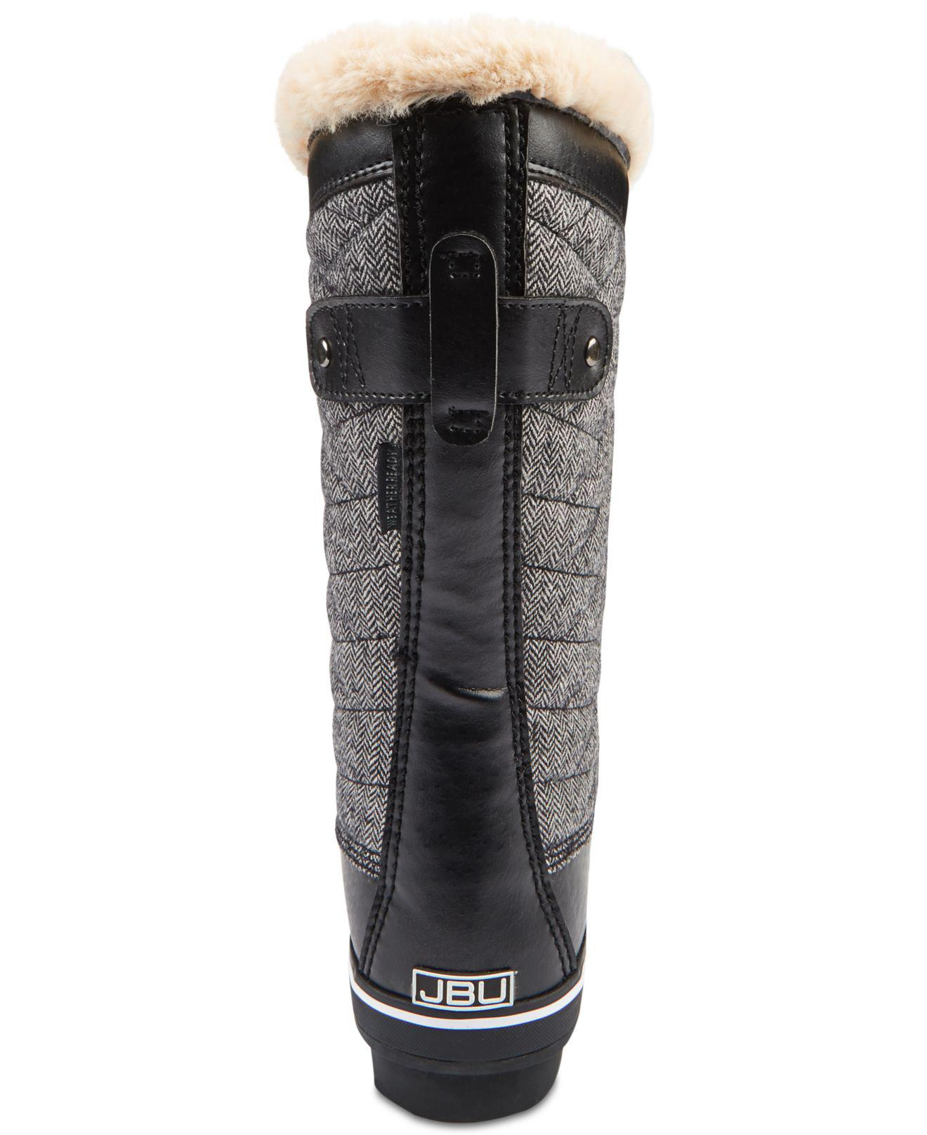 d9683ae8772 Jambu Black Jbu By Lorna Wide-calf Winter Boots