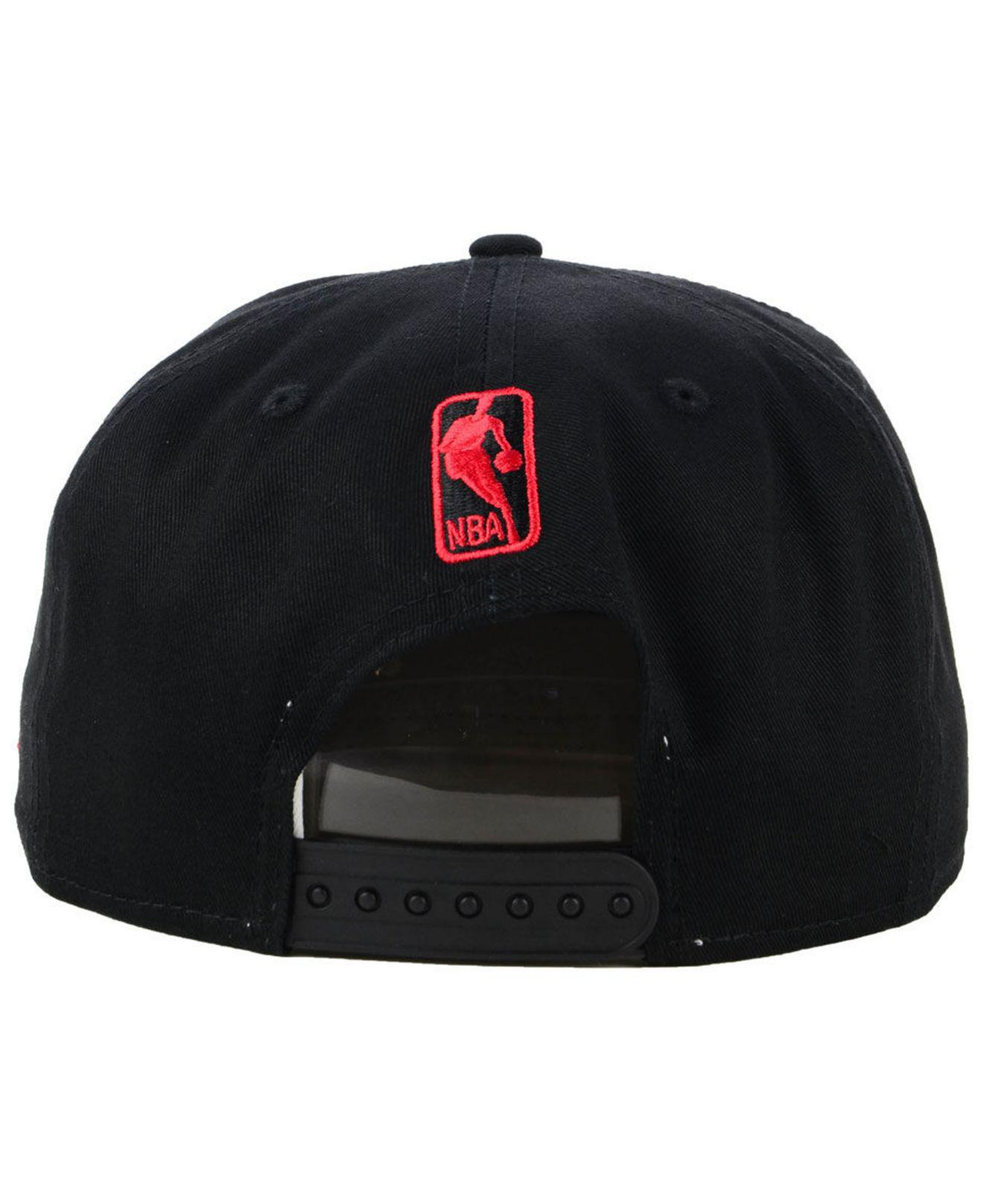new product 3ec63 41dd3 ... best price toronto raptors retro arch 9fifty snapback cap for men lyst.  view fullscreen 32639