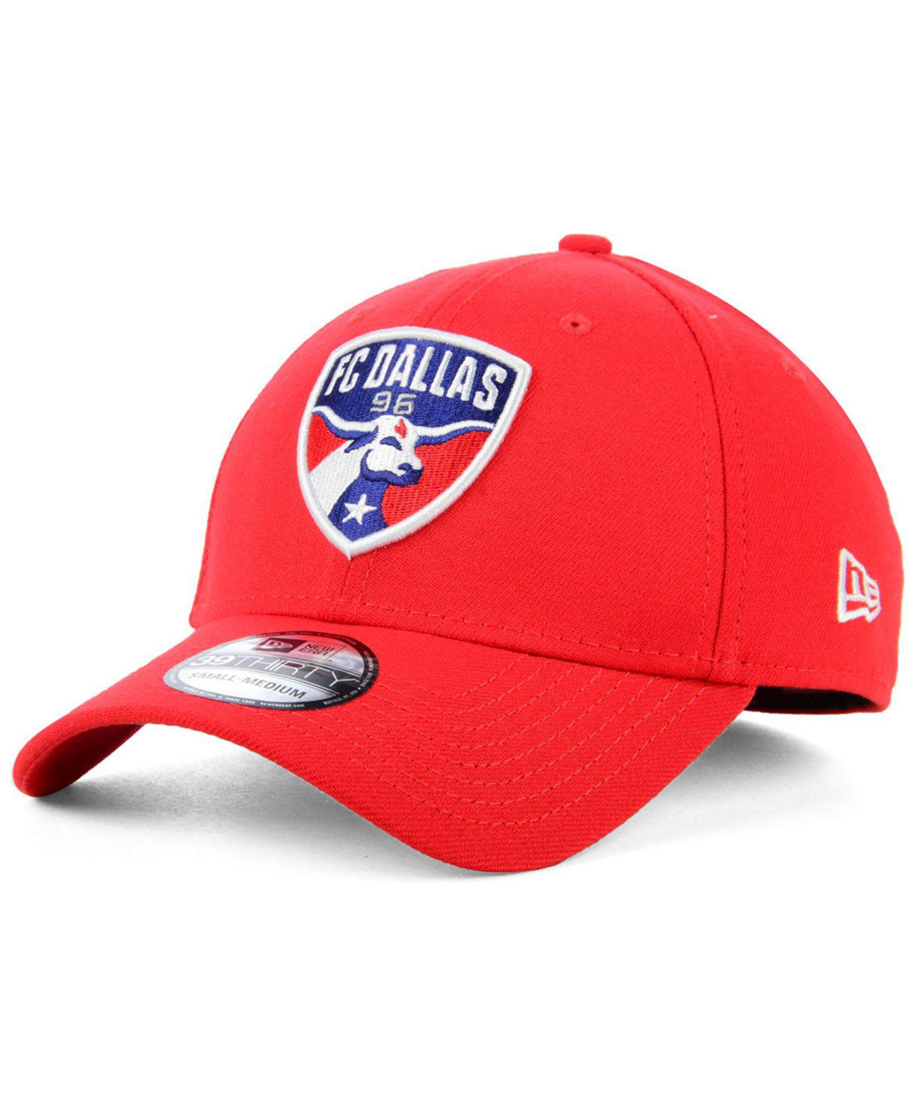 pretty nice 96c11 f05b5 KTZ. Men s Red Fc Dallas Team Classic 39thirty Stretch Fitted Cap
