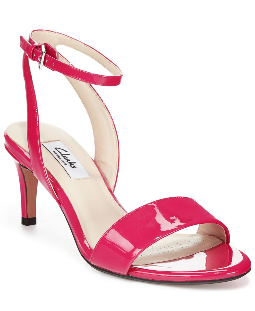 927b40ee3 Clarks Narrative Women's Amali Jewel Dress Sandals in Red - Lyst