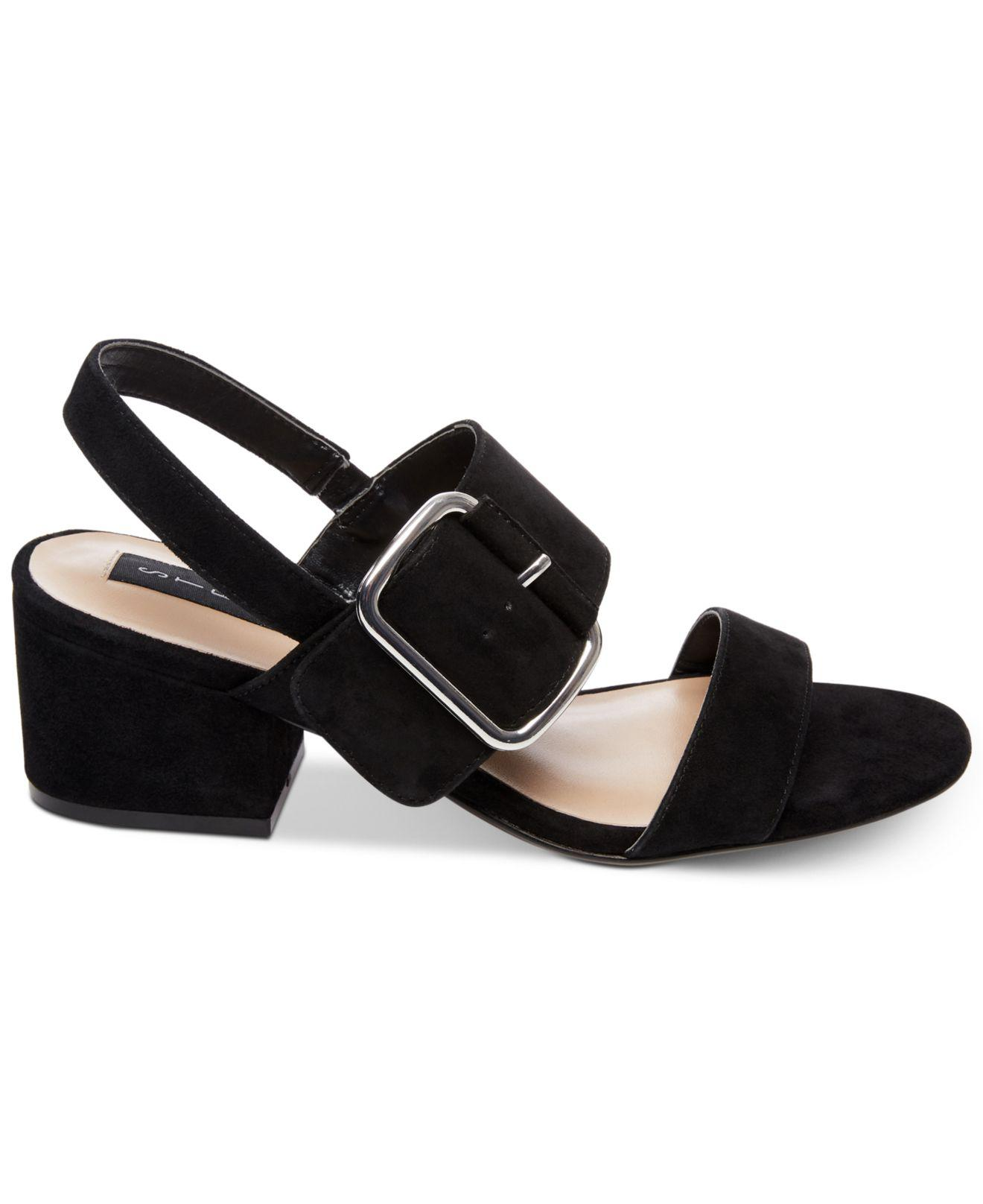 07d94db925a Lyst - Steven by Steve Madden Fond Buckle Dress Sandals in Black