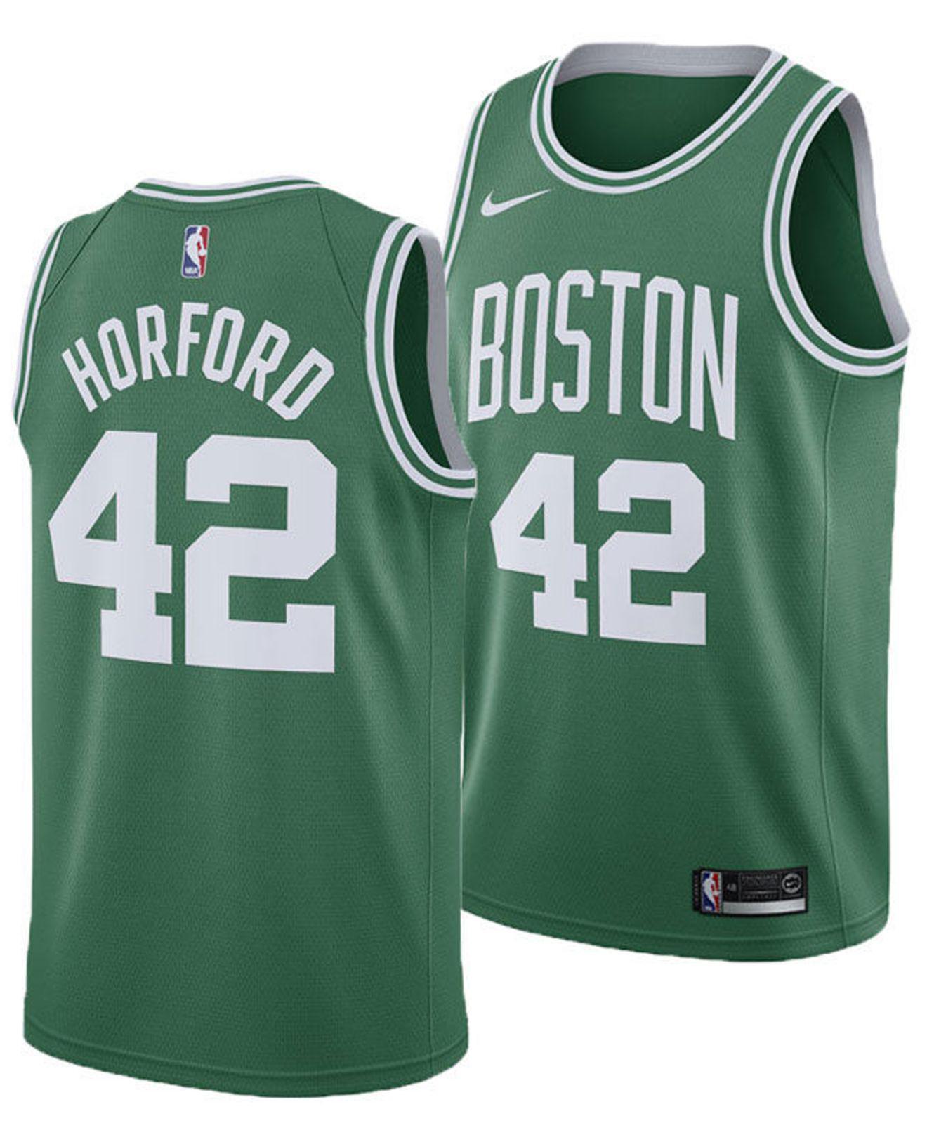 827fc80f36e Lyst - Nike Al Horford Boston Celtics Icon Swingman Jersey in Green ...