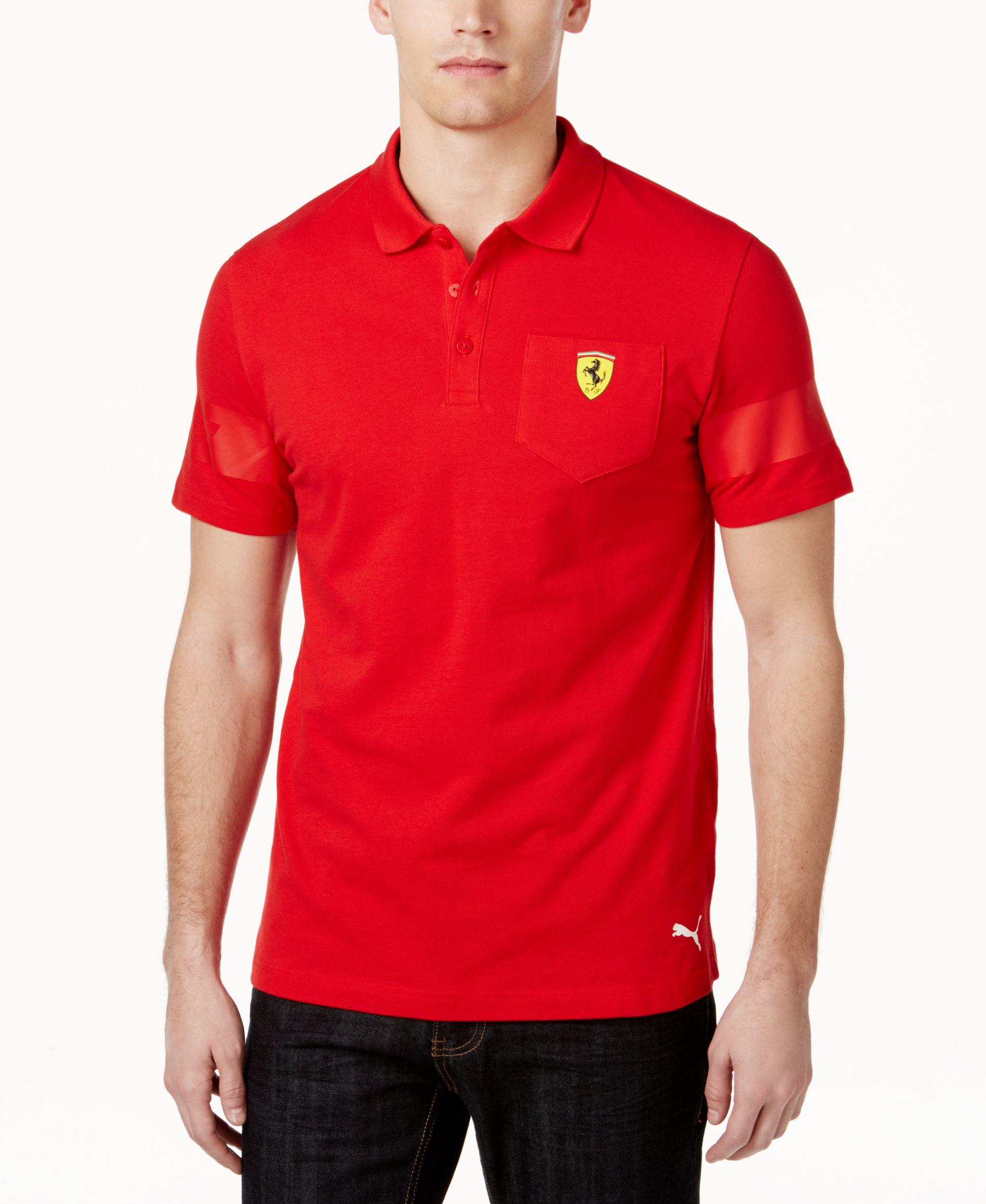 india polo leshirt shirts buy puma red asp ferrari off shirt t