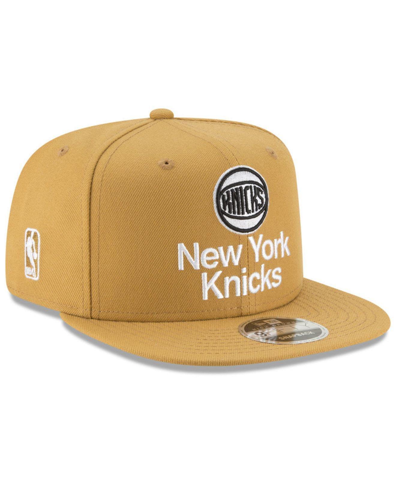 best website 93d72 4ed1b ... wholesale new york knicks retro basic 9fifty snapback cap for men lyst.  view fullscreen f346e