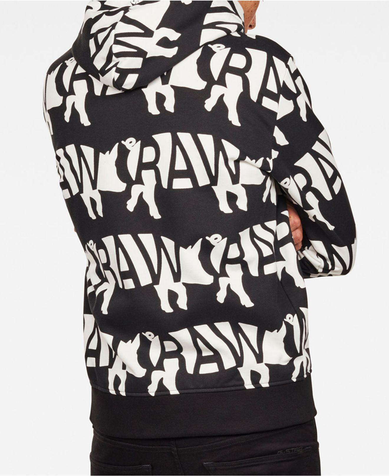 f916d59a96c G-Star RAW - Black Mens Chinese New Year Pig Hoodie for Men - Lyst. View  fullscreen