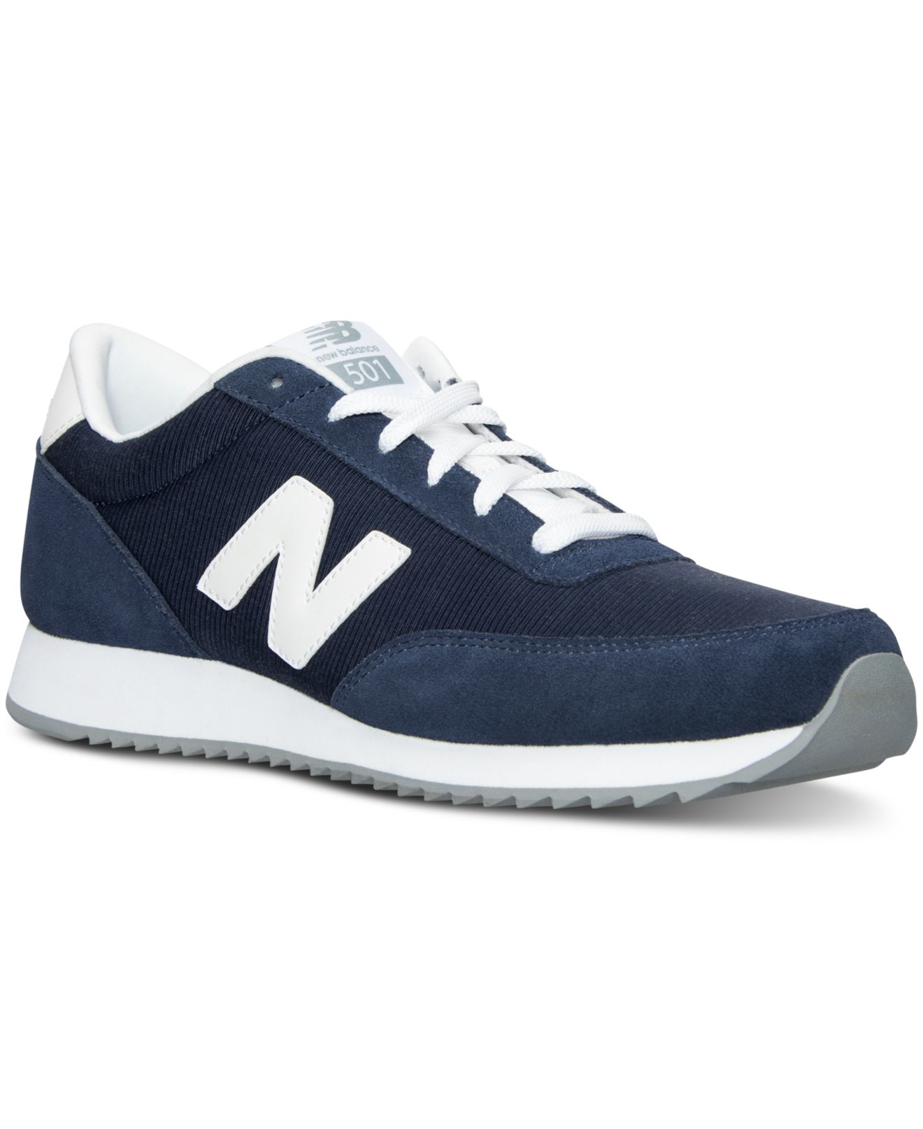 more photos 1e057 f2b44 New Balance Men s 501  90s Traditional Casual Sneakers From Finish ...