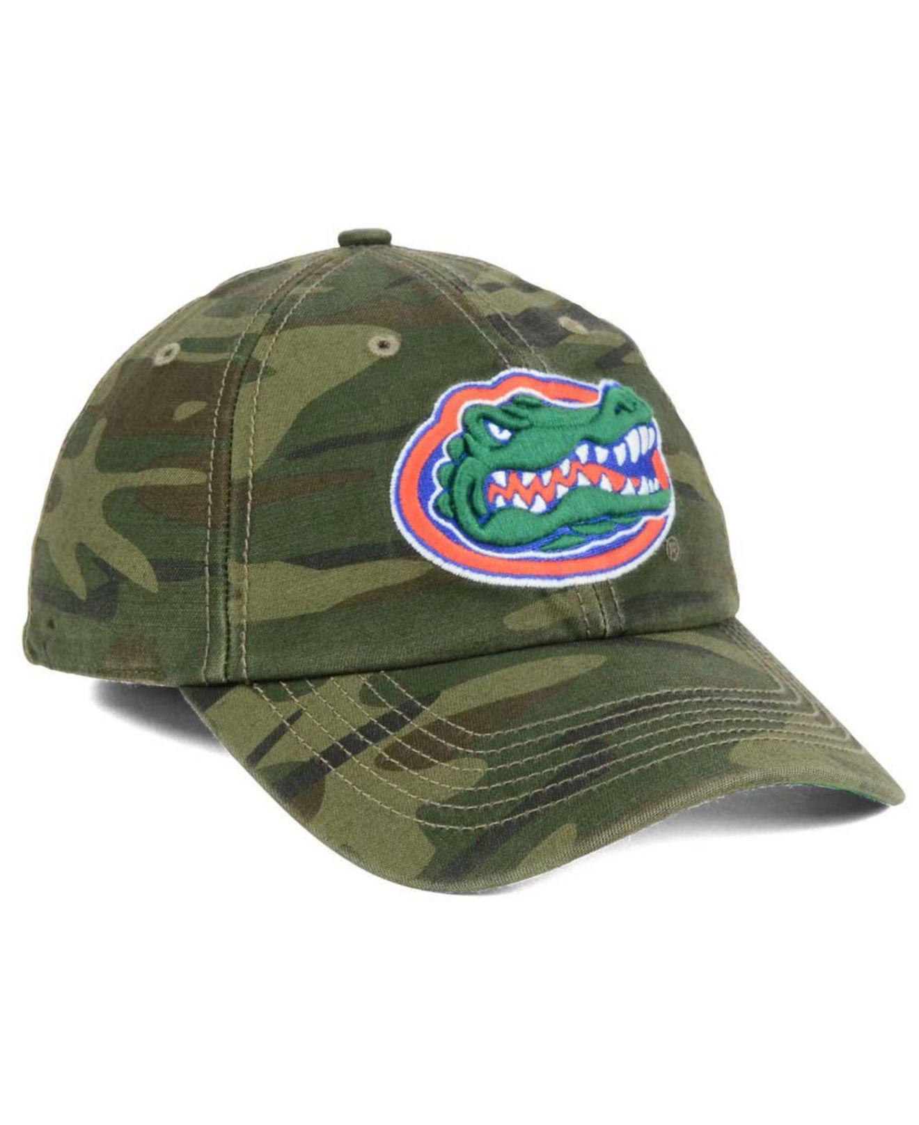 ecede8fcb9ddd ... new style lyst 47 brand florida gators harlan franchise cap in green  for men 3084b 381f3
