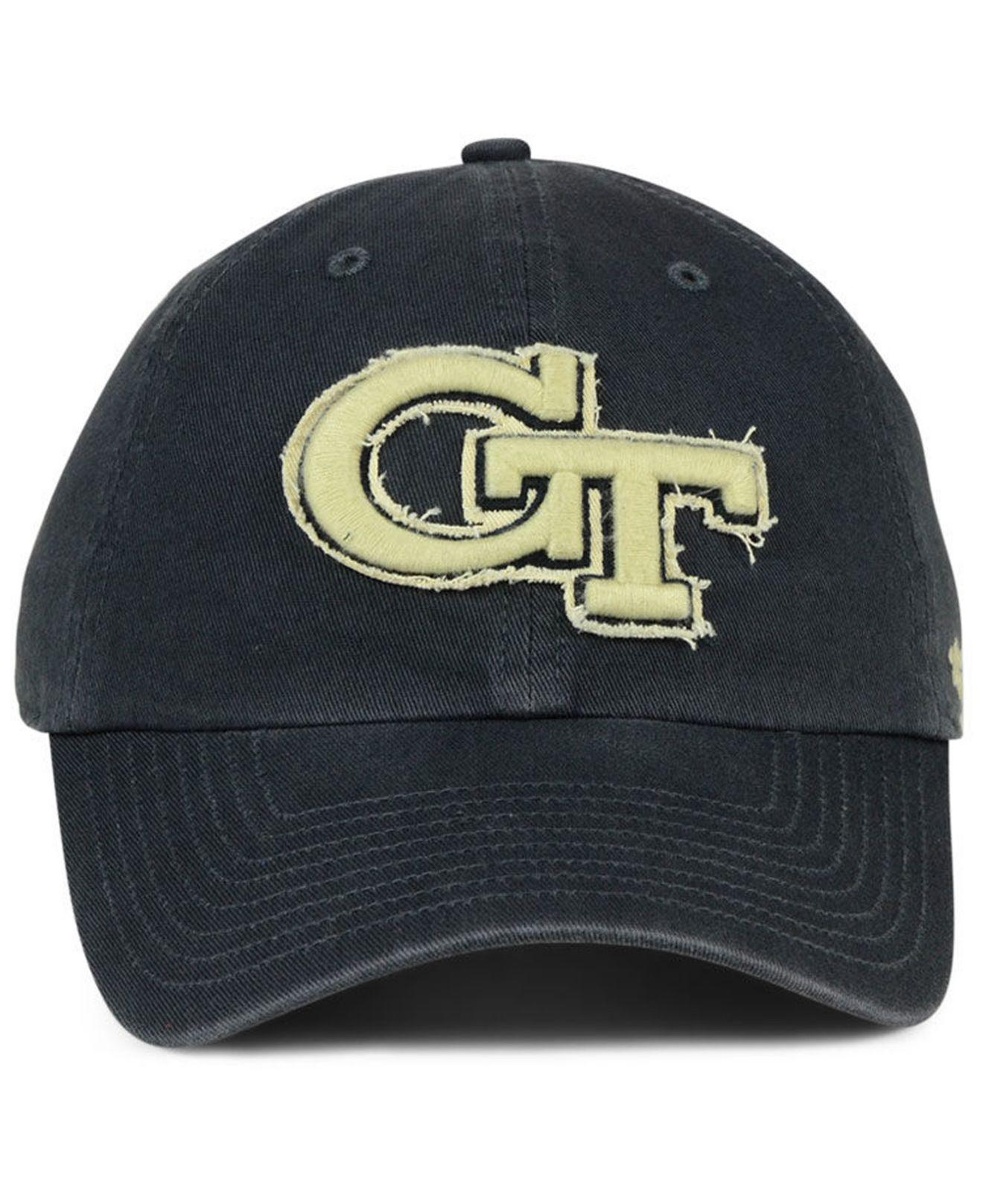 detailing great quality multiple colors 47 Brand Cotton Georgia-tech Double Out Clean Up Cap in Navy (Blue ...
