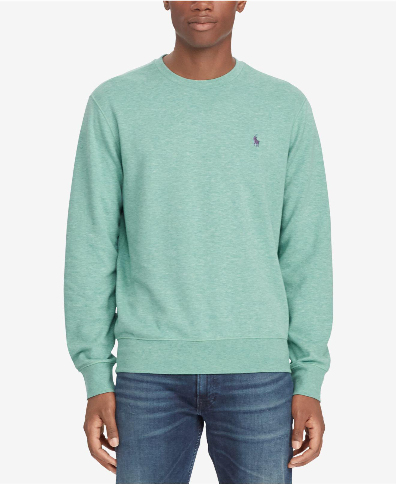 7c856f41c9a96 Lyst - Polo Ralph Lauren Classic Fit Long-sleeve T-shirt in Green ...