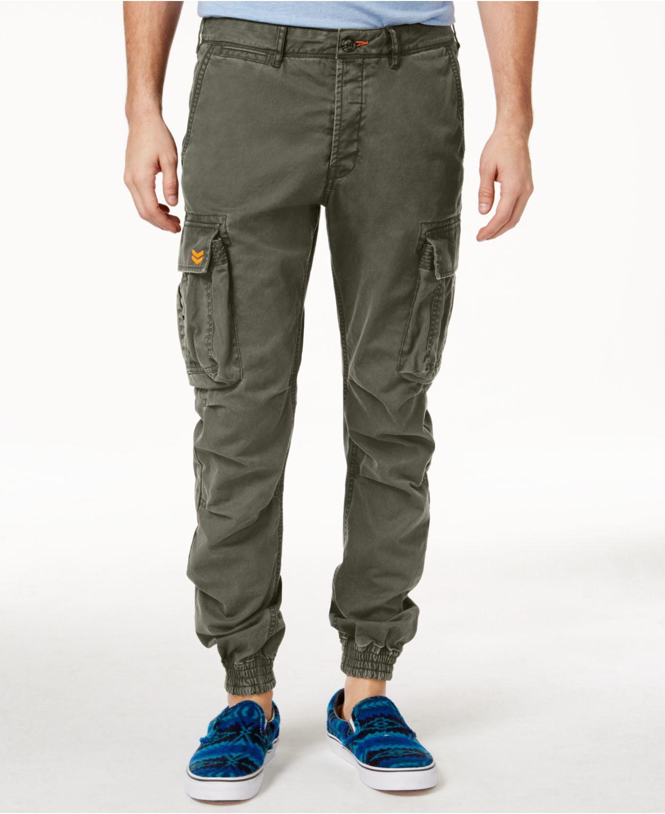 Superdry Men's Rookie Grip Camouflage Cargo Pants