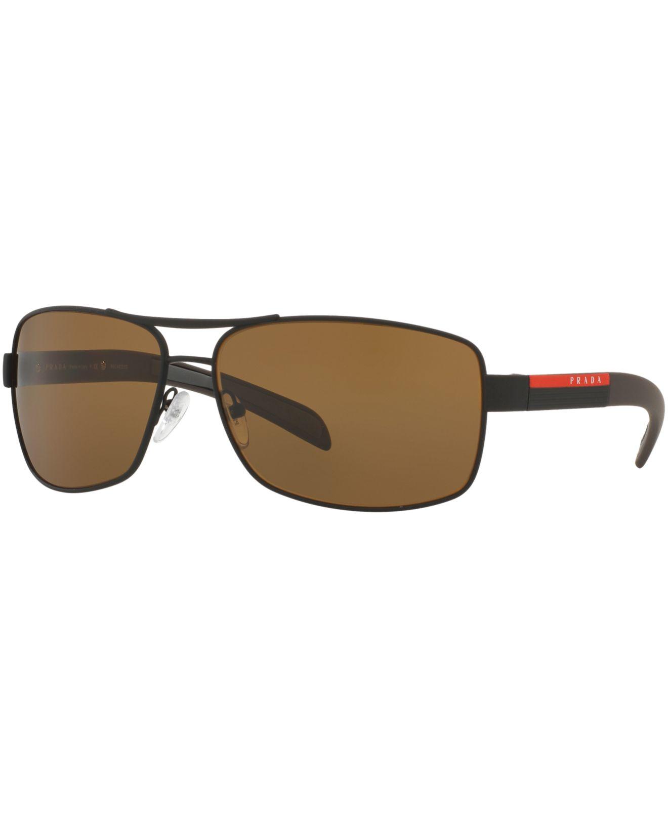 432b34d8e346d Prada Linea Rossa Men s Sunglasses - Ps 54is
